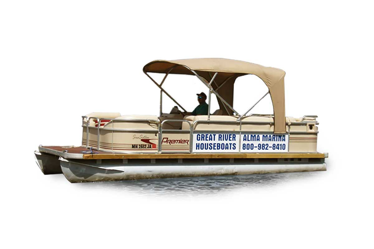 Alma Marina Pontoons for Rent